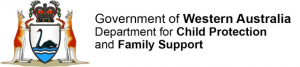 Department for Child Protection and Family Support logo