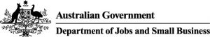 Department of Jobs and Small Business logo